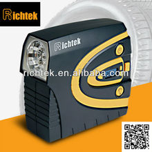 Richtek 12v dc portable air tire inflator with independent gauge (RCP-C40A) Detachable pressure gauge tire pump