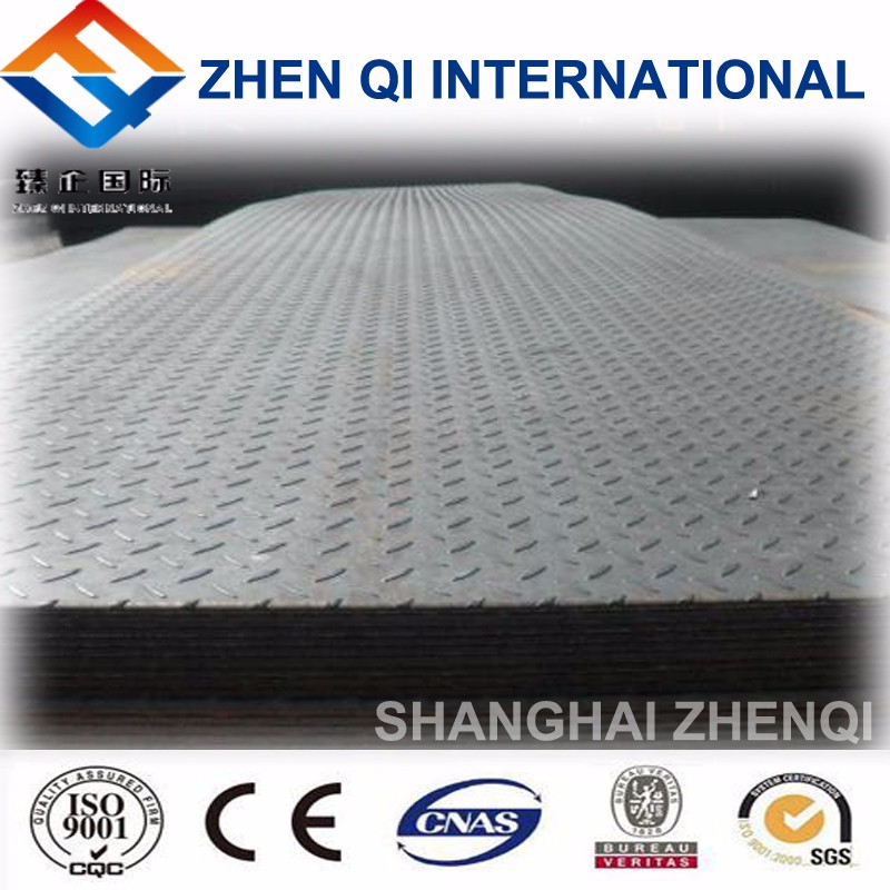Alibaba Hot Dipped Galvanized Steel Checkered Plate