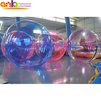 most popular inflatable water running ball for trade show