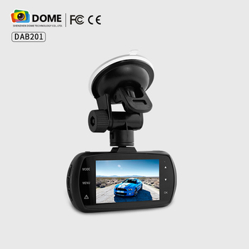 Wide dynamic super night vision 1080p Full HD car DVR GPS dashcam with camera input