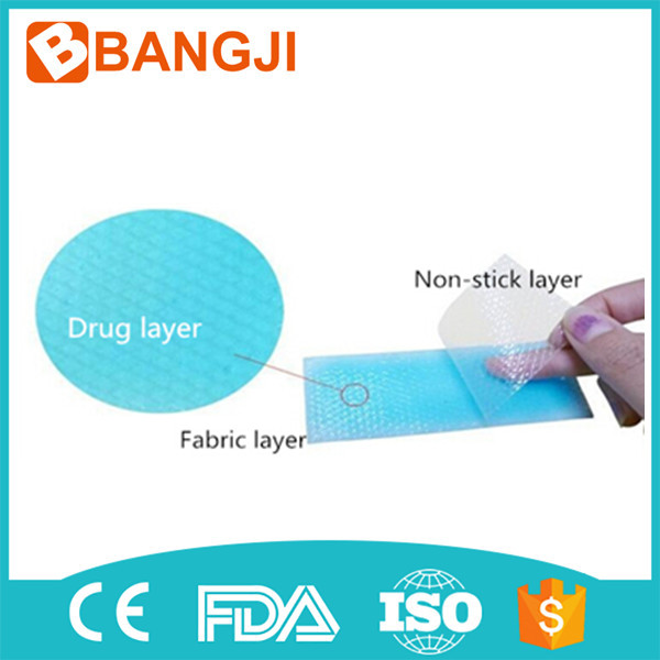 Family necessary disposable hydrogel fever cooling patch