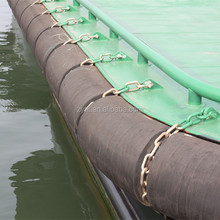 Tugboat rubber fender for yacht, barge