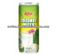 RITA Young Coconut Water With Pulp Fruit Juice