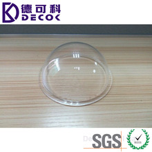 Chinese Manufacture Clear Acrylic Hollow Plastic Half Sphere Camera Replacement Acrylic Dome