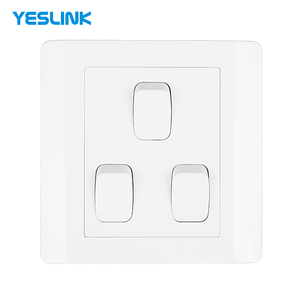 Hotel Energy Saving EU Standard 3 Gang 1 Way 2 Way 3 Way MK Electric Switch