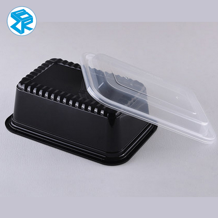 Microwaveable disposable heat sealing food packaging lunch box