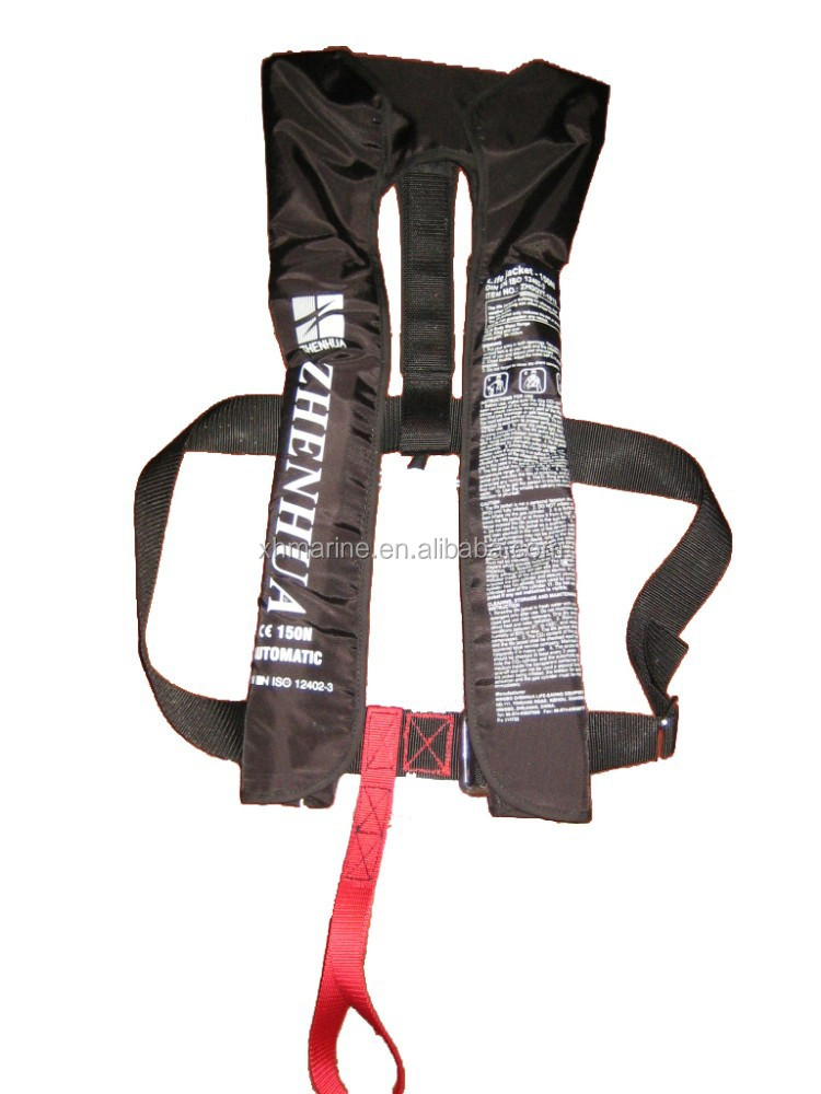 personalized Automatic Single Chamber Inflatable Life Jacket Vest