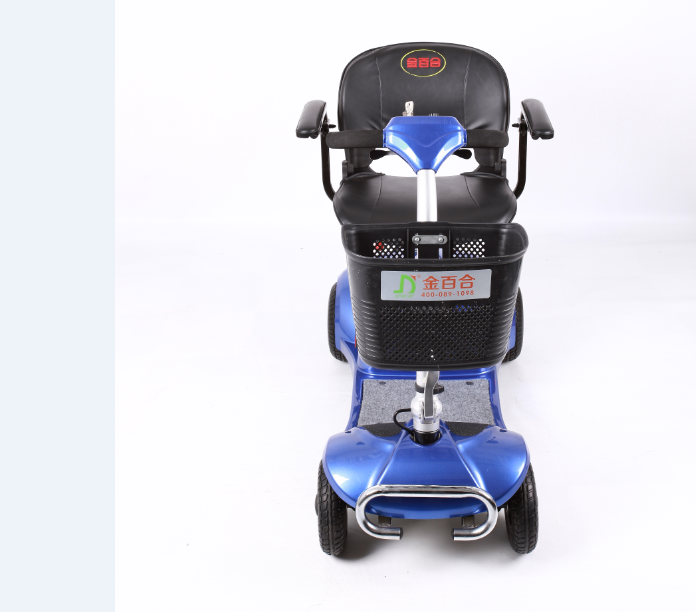 NEW ISO 13485 portable foldable lithium battery 270W four wheels electric mobility scooter for elderly / olders / handicapped