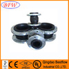 DIN standard neoprene flexible expansion flange rubber joint