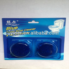 Blue flash toilet bowl cleaner
