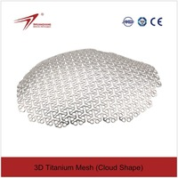 Cranial Titanium Wire Mesh for Skull Restoration Cloud Shape surgical Implant