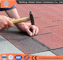 sand coated metal roofing tile / asphalt roofing shingle