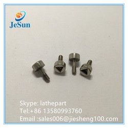 China Factory non-standard Stainless Steel Flat Head cap Screw,thumb screw
