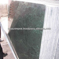 Special green marble slab
