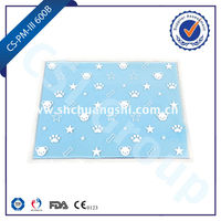 MSDS, CE, SGS, FDA, ISO certificated dog products mattress pad/pet cool mat