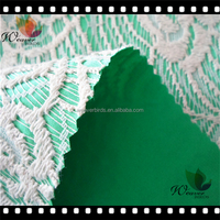 New arrival Top 10 lace bonded fabric for woman dress