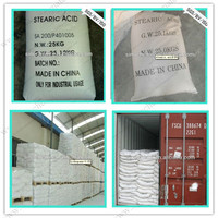 C17H35COOH 99.8% Triple Pressed Stearic Acid grease grade for rubber making