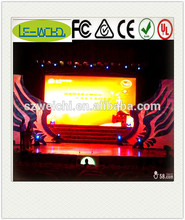 indoor led 3d advertising screen indoor stage background curved led screen indoor led tv advertising screen 10 square meters