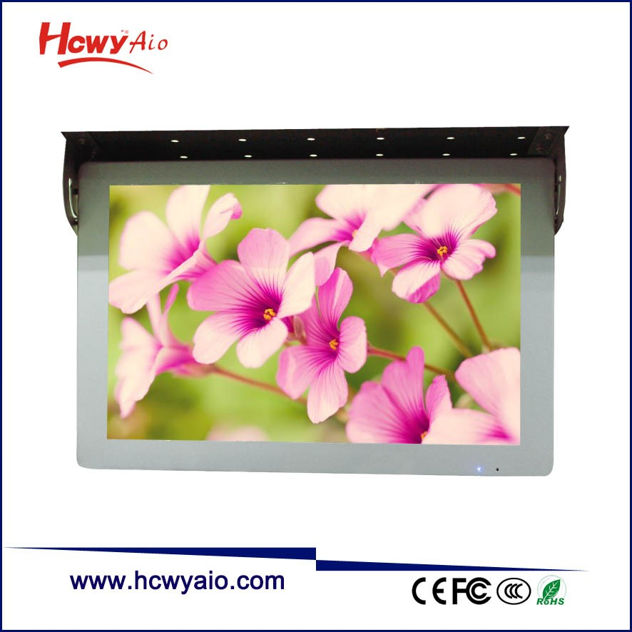 Bus AD Player 19inch Android WIFI LCD Advertising Player