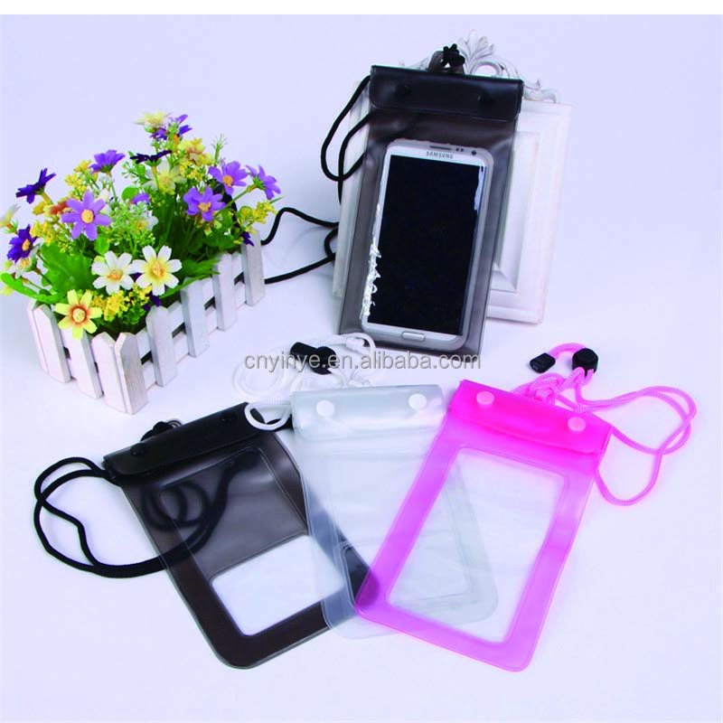 2017 new pvc mobile phone case pvc waterproof pouch universal waterproof bag