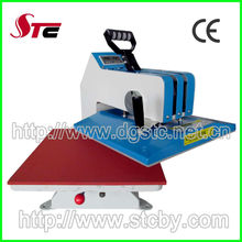 CE manual digital swing away heat press machine shaking head heat transfer machine t-shirt heat press machine for sale