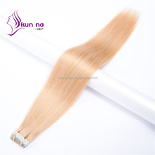 top grade remy brazilian hair silky straight extension PU tape hair extension human