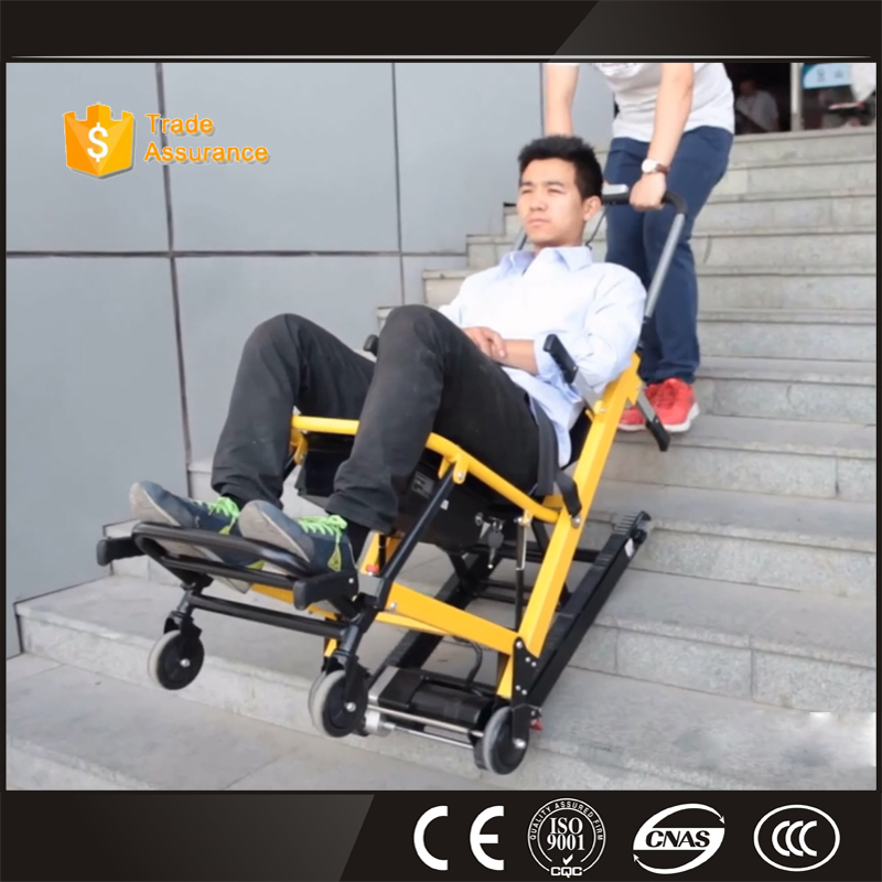 Ambulance Aluminum Alloy Stair Chair Stretcher used for evacuation