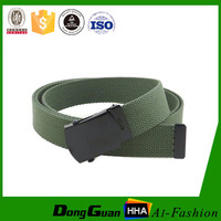 Factory Direct Cheap Custom Polyester Military Fabric Belt