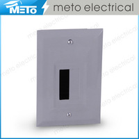 100A small outdoor single phase residential three wire custom electric load centers/modular enclosures/distribution board