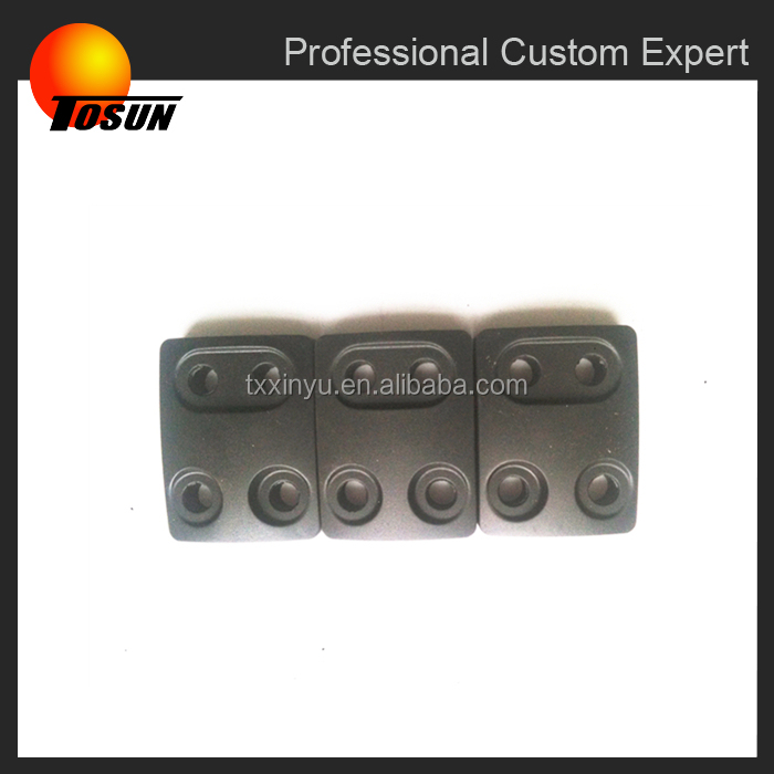 Vibration isolation rubber pad for electronics