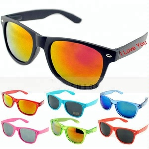 Own Logo Printing Fashionable UV 400 Custom Sunglasses