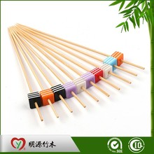 Bamboo nature colored decoration skewers