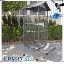 SGS high quality transparent costom figure display cage/ bird cage/pet cage wholesale