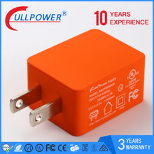 hot sale 5V1A 2.1A travel chargers for mobile android phone with UL FCC approved