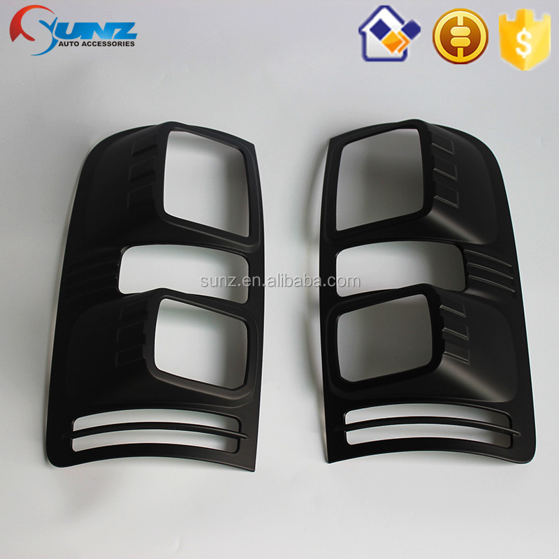 Car Lighting Black Tail Light Cover for Holden Colorado 2012-Tail lamp cover Chevrolet Colorado 2012 Car Accessories