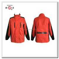 factory price polyester breathable rubber rain coats