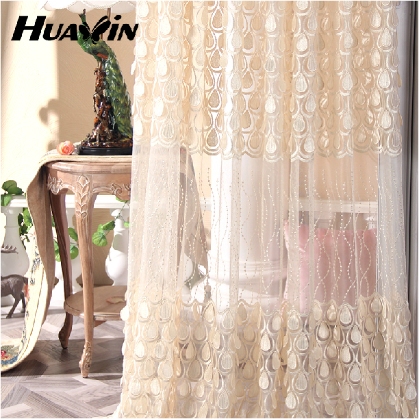 100% polyester High Quality luxury curtains drapes