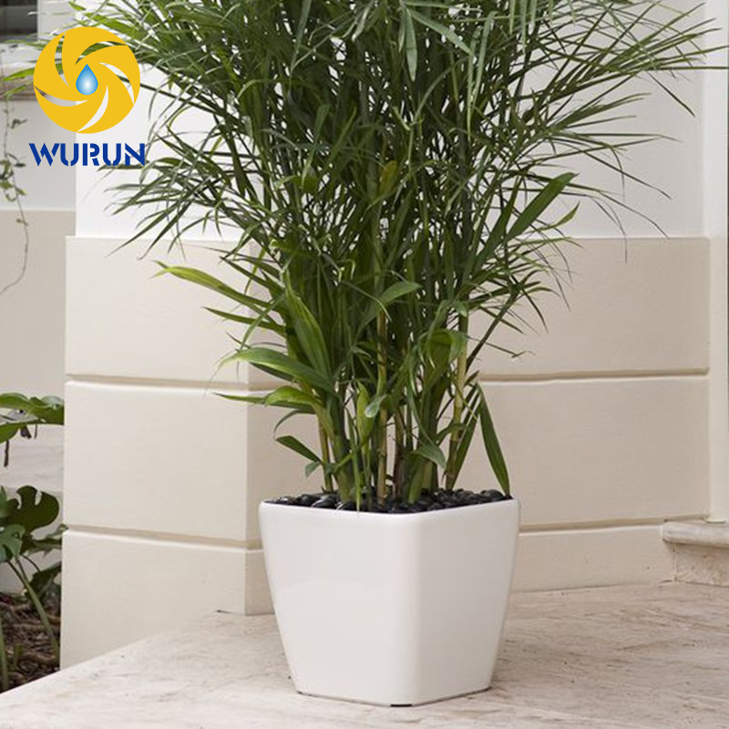 Modern New Style Office Decorative Garden Flower Pots Planters For Flowers Large White Plant Pot