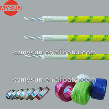 UL3122 200C heat resistance silicone fiberglass braiding cable and wire