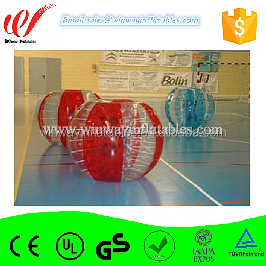 0.8mm PVC/TPU inflatable bumper ball,zorb ball,inflatable toys BW7030