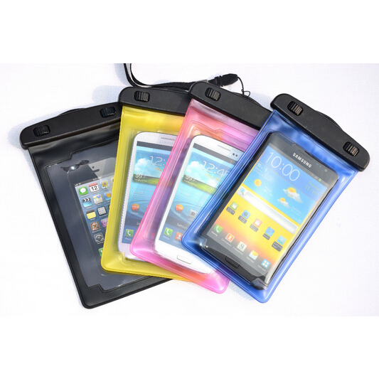 Water Proof Diving Bags Outdoor Waterproof Pouch Mobile Phone Cases for HTC for Sony Xperia Z1 Z for iPhone 5S 6S Plus