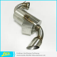 Professional SNOWMOBILE MUFFLER SKIBOB EXHAUST FOR POLARIS 2001-06 500-600-700 XC / RMK/ PRO-X with high quality