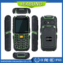 Water dust shock proof rugged mobile phone 2.4inch small size mobile phone