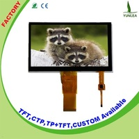 Touch display 800x480 lcd display 7 inch tft capacitive multi-touch screen