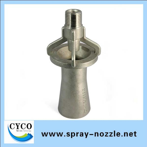 PP/ Stainless steel Corrosion resistance Mixing Fluid Nozzle,Water Spray Nozzle