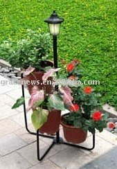 SOLAR LAMP WITH PLANT HOLDERS - SD06180C