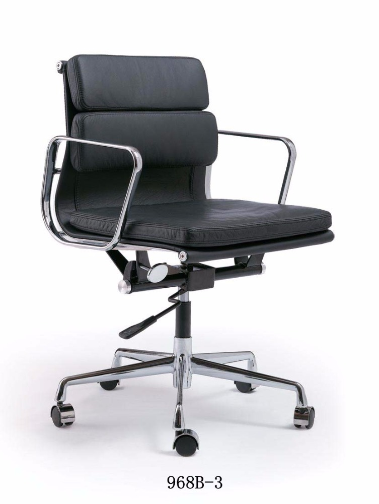 Classic Middle back PU leather emes chair office for executive