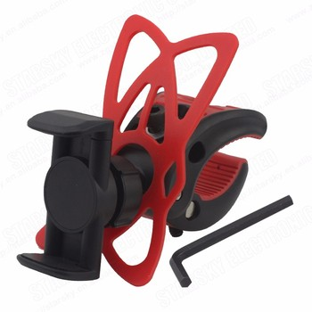 Bicycle cell phone holder mobile phone security stand bike phone holder