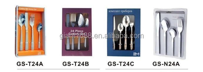 International German Stainless Steel Flatware for promotional
