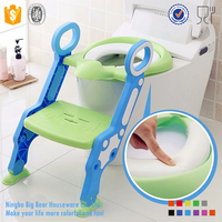 New Baby toddler ladder toilet, baby toilet seat with step ladder, baby potty ladder